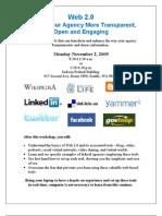 Seattle FEB - Web 2.0 Flyer