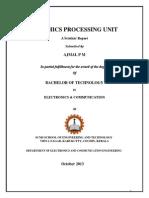 Seminar Report on GPU