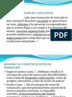 R.H. COASE Y SU TEORÍA (1)