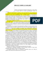 Resumen Del Longino