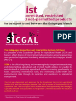 SICGAL Foods permitted into Galapagos