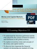 Function and Role of Financial Systems
