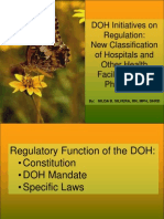 New Classification of Hospitals and Other Health Facilities in the Philippines