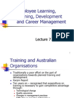 Employee Learning, Development & Career MGT
