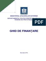 Ghid de Finantare 2013
