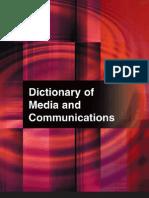 Dictionary of Media