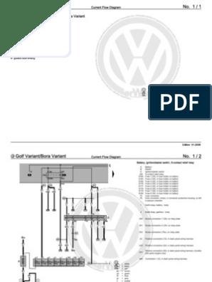 Golf 4 Manual | Headlamp | Electrical Connector J Jetta Wiring Diagram on