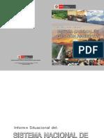 Informe Situacional Del Sistema Nacional de Gestion Ambiental 2010