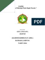 Perubahan Psikologis Pada Single ParentsPaper