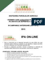 Utilizare IPA Online- Fermier Cu Solicitari SAPS Anterioare_2013
