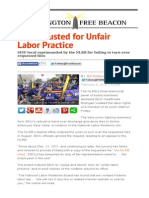 Union Busted for Unfair Labor Practice _ Washington Free Beacon