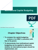 Multinational Capital Budgeting