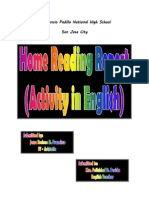 Home Reading Report - Bewolf