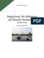 Nagarjuna en Alabanza Del Rendir Homenaje