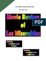 Movie Review - Les Miserables