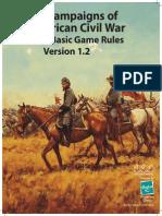 GCACW Series Rules - Version 1-2