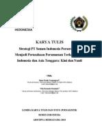 Strategi PT Semen Indonesia Persero) Tbk Menjadi Perusahaan Persemenan Terkemuka di Indonesia dan Asia Tenggara