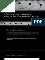Efecto electro-óptico