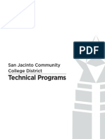 Technical Programs 2013 14