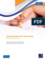 r Assessment for Learning 2013