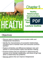 Health Relationships and communications