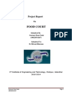 Final File Report(food court)