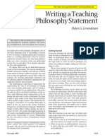 Writing a Teaching Philosophy Statement_0