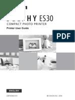 Canon Selphy Es30 Guide En