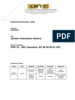 System Substation Battery