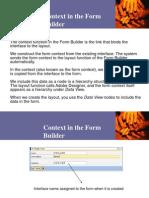 Form Builder - Context