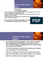 Form Builder - Interface
