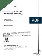 Moscovici, S. - Introducción-Psicología de las Minorias activas