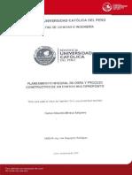 T-PUCP_Planeamiento Integral de Obra