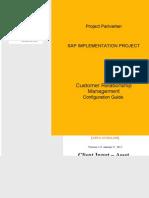 SAP CRM Configuration Guide