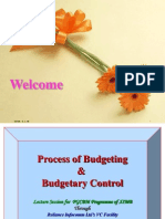 Budget & Process of Budgeting - Webinar XIMB