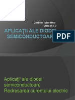 Aplicații ale diodei semiconductoare