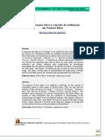 Considerações sobre o conceito de civilização- Silvia Lima de Aquino