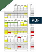 Planejamento 2014-Calendário de Atividades