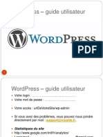 wordpress3- guied utilisateur