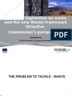European Legislation on Waste