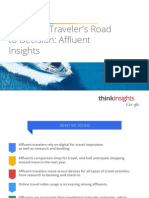 Travelers Road to Decision Affluent Insights Research Studies