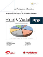 Marketing Strategies in Business Markets Airtel & Vodafone