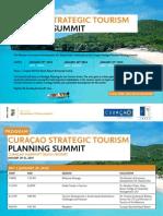 Invitation Curacao Strategic Tourism Planning Summit