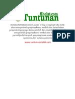 Arti Surat Al-Kaafirun