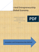 Innovation and Entrepreneurship Presentation