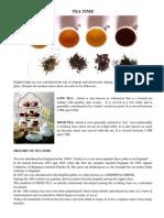 Newsletter Tea Time