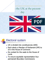 Political System of the UK Present