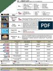 Shedule&Price List Tunisia-Safari.com
