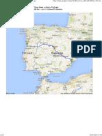 Ruta de Elche (Alicante) a Aveiro