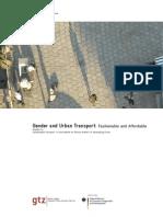 Gender and Urbain Transport - NOVO